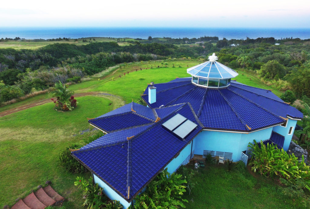 Ahimsa Sanctuary Farm Arial View