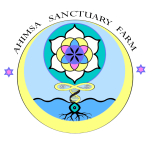Ahimsa Sanctuary Farm Logo